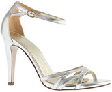 J.Crew Metallic leather high-heel sandals