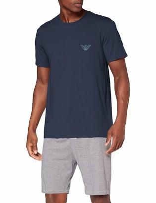 Emporio Armani Men's Colored Basics-Pure Organic Cotton T-Shirt