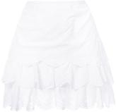 Ulla Johnson English Embroidery Layered Skirt
