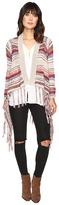 Brigitte Bailey Zinnia Long Sleeve Crocheted Cardigan
