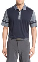 Cutter & Buck Men's 'Notable Colorblock' Colorblock Drytec Golf Polo