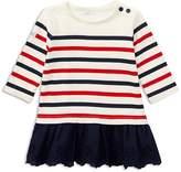 Ralph Lauren Girls' Striped Eyelet Dress - Baby