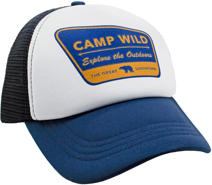 Feather 4 Arrow Camp Wild Trucker Hat