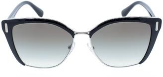 Prada Black Full Rim Frame Sunglasses