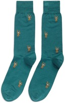 Paul Smith Monkey intarsia socks