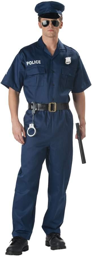 California Costumes Men's Police Costume, Navy