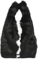 KENDALL + KYLIE Michelle Faux Fur Tote Bag