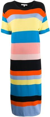 Parker Chinti & striped dress