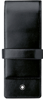 Montblanc Meisterstück 3 Pen Leather Pouch, Black