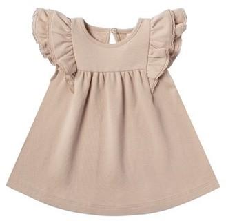 Quincy Mae Flutter Dress