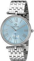 Cabochon Women's 16389-25 Carlita Analog Display Quartz Silver Watch