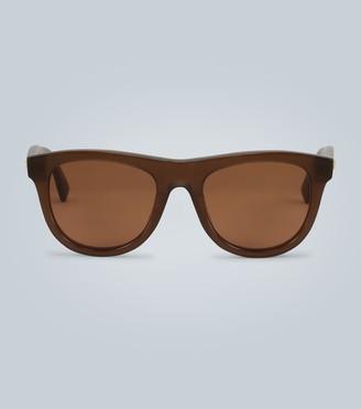 Bottega Veneta D-shape sunglasses