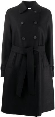 Harris Wharf London Double-Breasted Midi Coat