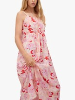 Thumbnail for your product : MANGO Flowy Abstract Floral Print Midi Dress, Multi