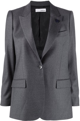 Lardini Single-Breasted Jacket