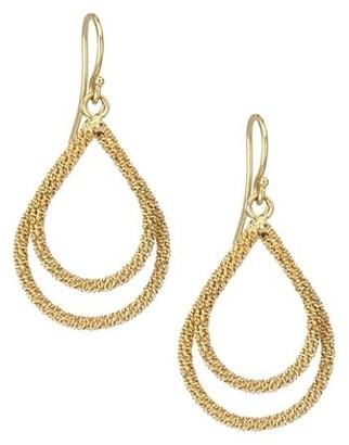 Amali 18K Yellow Gold Wrapped Chain Drop Earrings