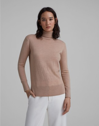 Club Monaco Essential Merino Wool Turtleneck
