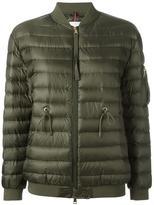 Moncler lace-detail padded jacket - women - Polyamide - 2