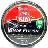 Kiwi Black Shoe Polish Shoe Wax Black Shoe Shine Black Boot Polish Protector