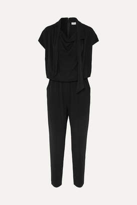 By Malene Birger Emerly Jersey Jumpsuit - Black