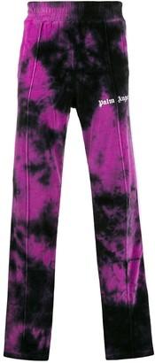 Palm Angels Tie-Dye Print Track Pants
