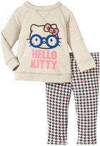 Hello Kitty Sweatershirt Set (Baby) - Heather Gray-18-24M