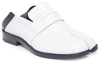 Maison Margiela Tabi Advocate Bi-Color Leather Loafers
