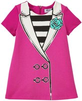 Moschino Dress With Collar (Baby) - Hot Pink - 1/3 Months