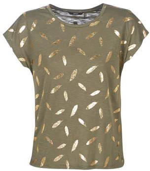 Only ONLFEATHER women's T shirt in Green