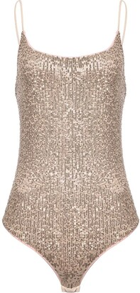 Pinko Sequin Embellished Swim Suit