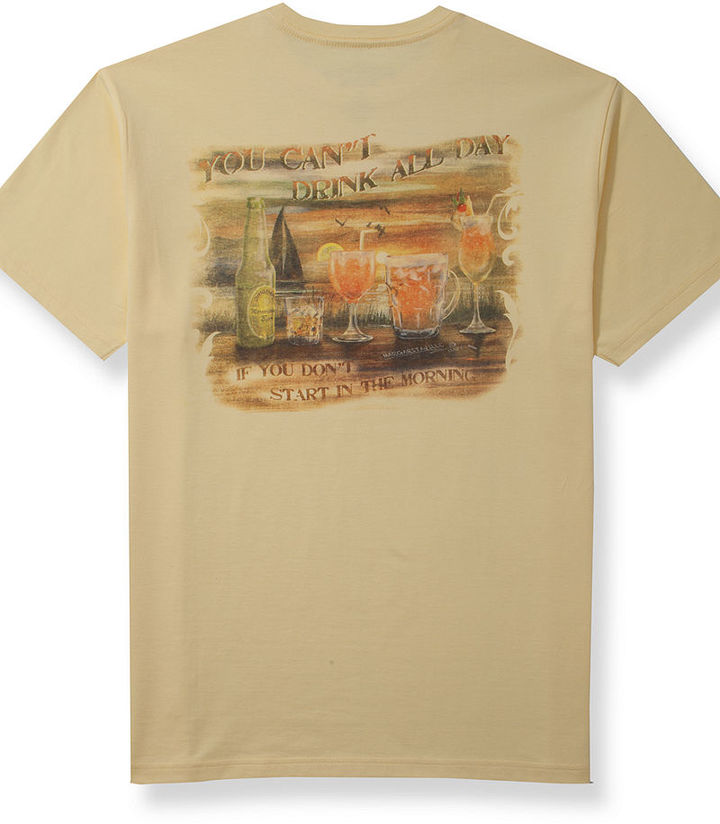 Tasso Elba Island Margaritaville Morning Drinks T-Shirt
