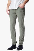 7 For All Mankind Luxe Performance Sateen The Straight In Sage