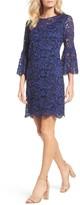 Chetta B Women's Bell Sleeve Lace Dress