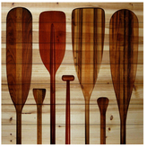 Parvez Taj Paddles by Wood)