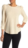 Chenault Puff Sleeve Knit Top
