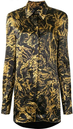 Proenza Schouler Printed Button Down Shirt