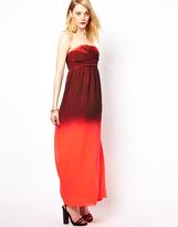 Vila Maxi Dress In Ombre