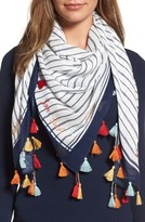 Rebecca Minkoff Women's Sun Surf Sand Repeat Square Scarf