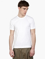 Comme Des Garcons Shirt Regular White T-shirt