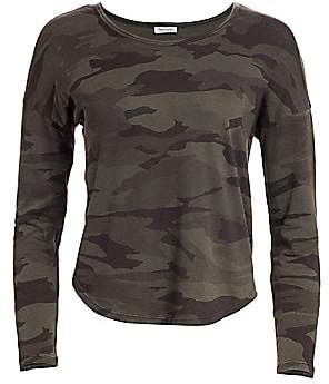 Splendid Women's Zander Camo Cotton Tee