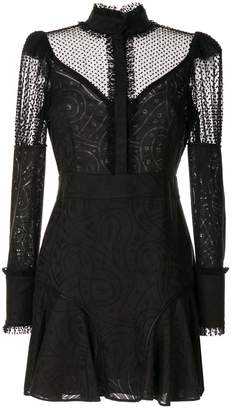 Alexis Madilyn lace panel dress