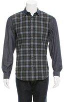 Vince Plaid Button-Up Shirt w/ Tags