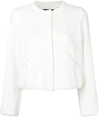Emporio Armani Fitted Bomber Jacket
