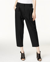 DKNY Pleated Cropped Pants