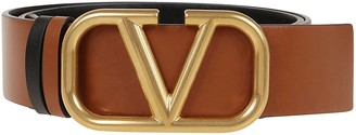 Valentino Garavani V Logo Belt H. 40