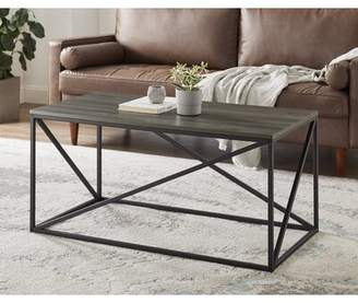 Zepeda Coffee Table 17 Stories Table Top Color: Dark Walnut