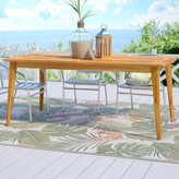 Beachcrest Home Telma Wooden Dining Table