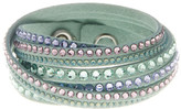 Swarovski Multi Row Crystal Wrap Bracelet