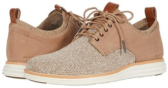 Cole Haan Original Grand Stitchlite Saddle Ox (Amphora Knit/Nubuck/Ivory) Men's Shoes
