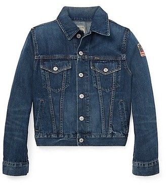 Ralph Lauren Boy's Trucker Denim Jacket